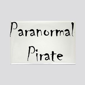 Paranormal Pirate Rectangle Magnet