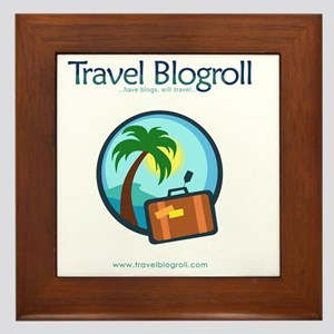 travelblogroll_for-store Framed Tile
