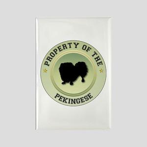 Pekingese Property Rectangle Magnet