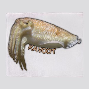 Cuttle Kayoot Throw Blanket