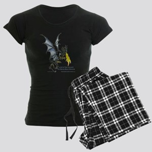 shirt_transparent Women's Dark Pajamas