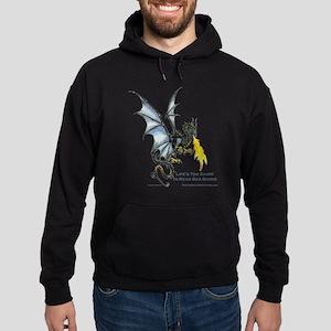 shirt_transparent Hoodie (dark)