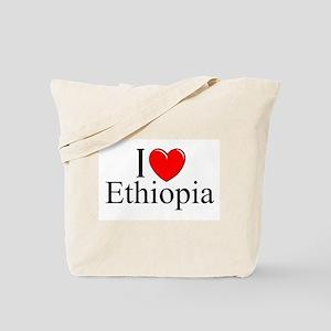 """I Love Ethiopia"" Tote Bag"