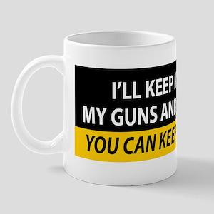Money-Guns-Freedom Mug