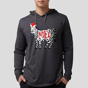 Christmas Noel Zebra Long Sleeve T-Shirt