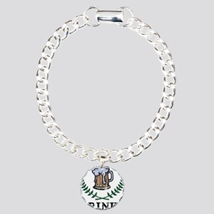 Drinks Of Champions Charm Bracelet, One Charm