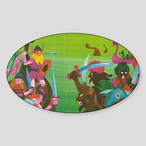 Vic Sticker (Oval)