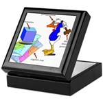 Dissonant Duck Keepsake Box