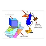 Dissonant Duck Postcards (Package of 8)