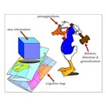 Dissonant Duck Poster Design