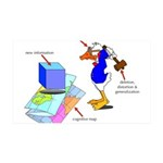 Dissonant Duck Wall Sticker