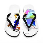 Dissonant Duck Flip Flops