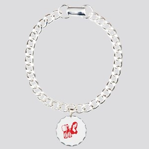 Don't Let Friends Drink  Charm Bracelet, One Charm