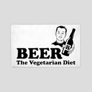 The Vegetarian Diet 3'x5' Area Rug