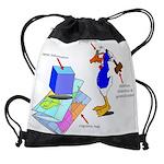 Dissonant Duck Drawstring Bag