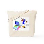 Dissonant Duck Tote Bag