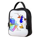 Dissonant Duck Neoprene Lunch Bag