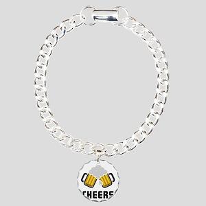 Cheers Charm Bracelet, One Charm
