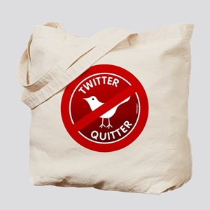 btn-twitter-quitter Tote Bag