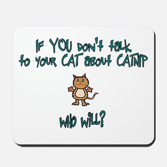 Catnip Mousepad