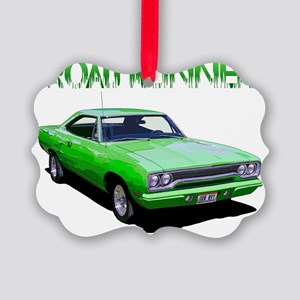 GreenRunner-10 Picture Ornament