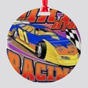 DirtRacing Round Ornament