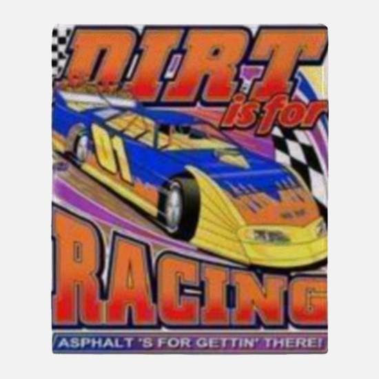 DirtRacing Throw Blanket