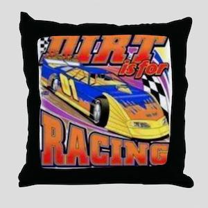 DirtRacing Throw Pillow