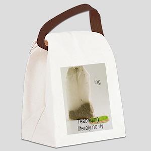 TeaBaging Canvas Lunch Bag