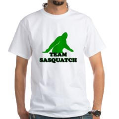TEAM SASQUATCH T-SHIRT BIGFOO White T-Shirt