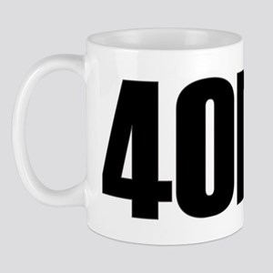 4one3black Mug