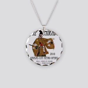 Mikado 2010 T-Shirt Necklace Circle Charm