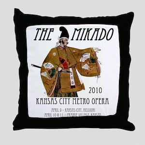 Mikado 2010 T-Shirt Throw Pillow