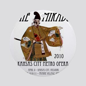 Mikado 2010 T-Shirt Round Ornament
