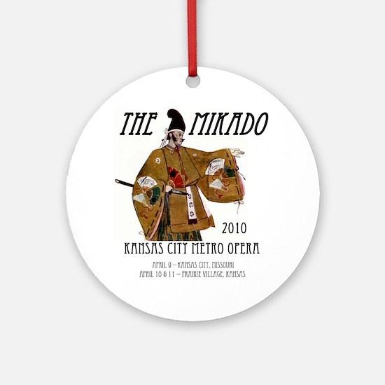Mikado 2010 T-Shirt Round Ornament