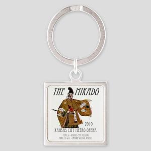 Mikado 2010 T-Shirt Square Keychain