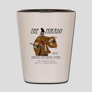 Mikado 2010 T-Shirt Shot Glass