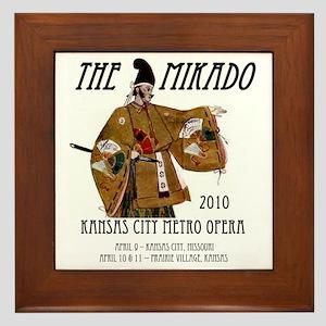 Mikado 2010 T-Shirt Framed Tile
