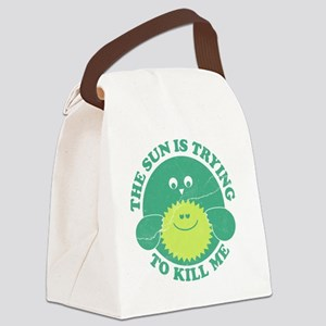 SunKillingMe Canvas Lunch Bag