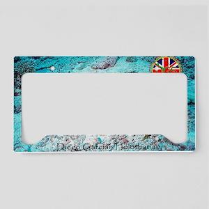 Postcard-holothurian-v1 License Plate Holder