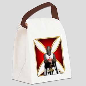 TemplarandCross Canvas Lunch Bag