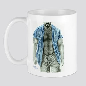 Blue shirt2 Mug