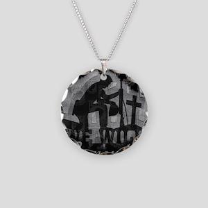 POW2 Necklace Circle Charm