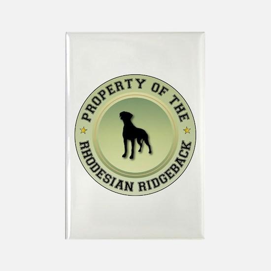 Rhodesian Property Rectangle Magnet