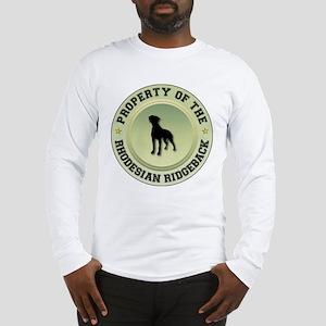 Rhodesian Property Long Sleeve T-Shirt