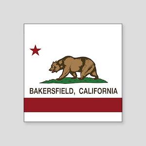 california flag bakersfield Sticker