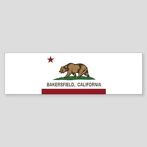 california flag bakersfield Bumper Sticker