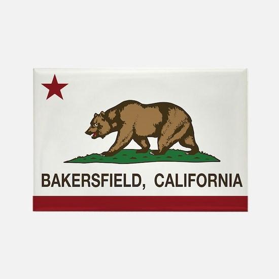 california flag bakersfield Magnets