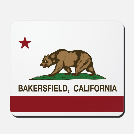 california flag bakersfield Mousepad