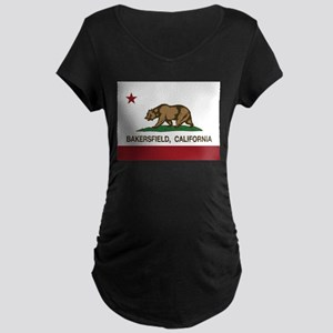 california flag bakersfield Maternity T-Shirt